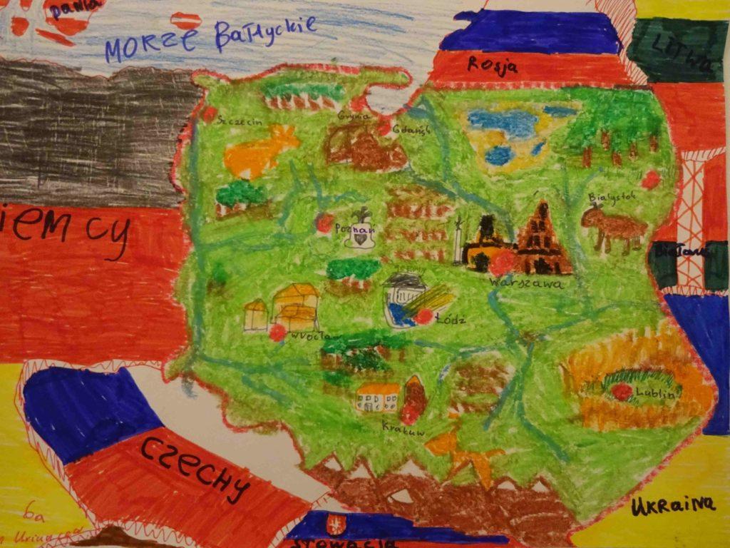 『ポーランド』 作者: Roman Urmiutsev  (2006年生まれ) ---