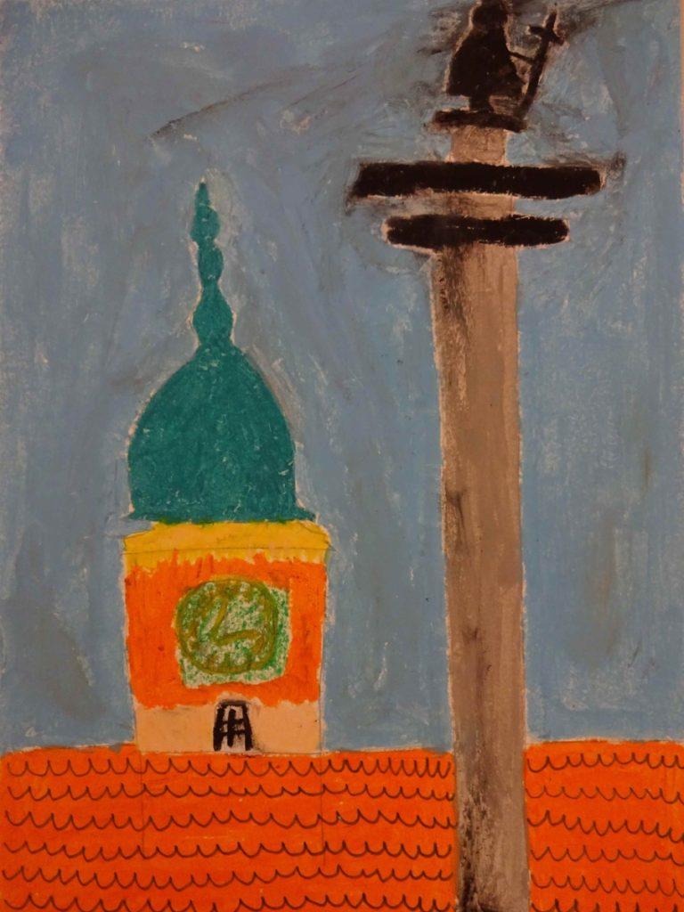 『ジギズムントの記念碑』 作者: Marta Podpora  (2006年生まれ) ---