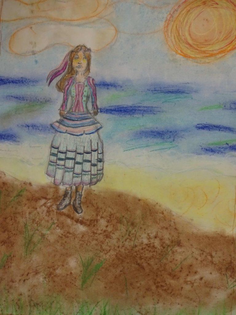 『スラブ人女性』 作者: Alicja Kenig  (2007年生まれ) ---
