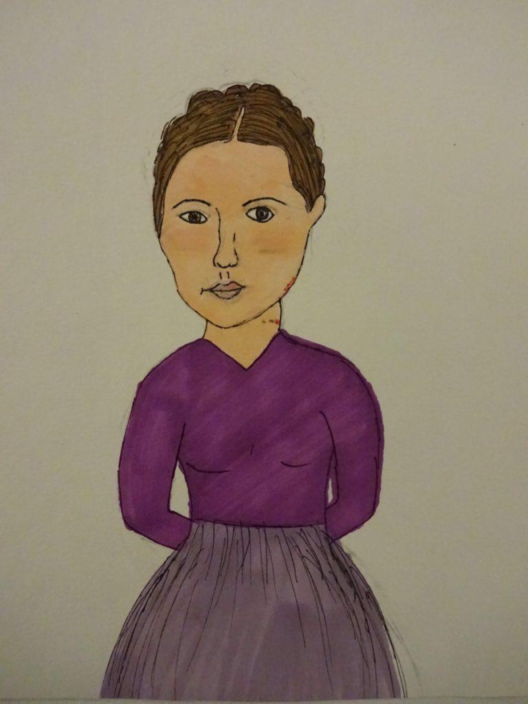 『イレーナ・センドラー』 作者: Barbara Kwiatkowska  (2008年生まれ) ---