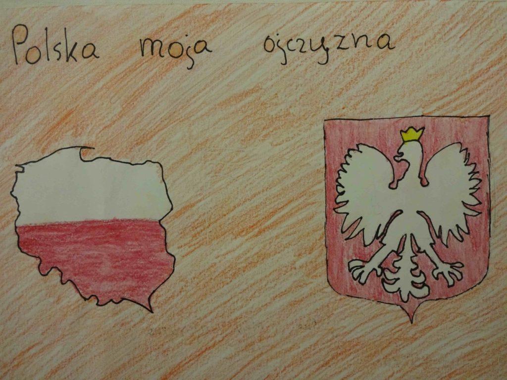 『国家の象徴』 作者: Anna Listopadzka  (2008年生まれ) ---
