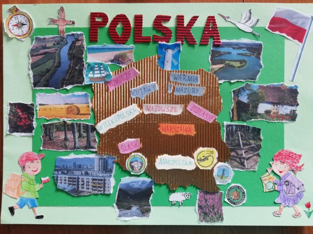 『ポーランドの旅』 作者: Liliana Śmidoda  (2009年生まれ) ---