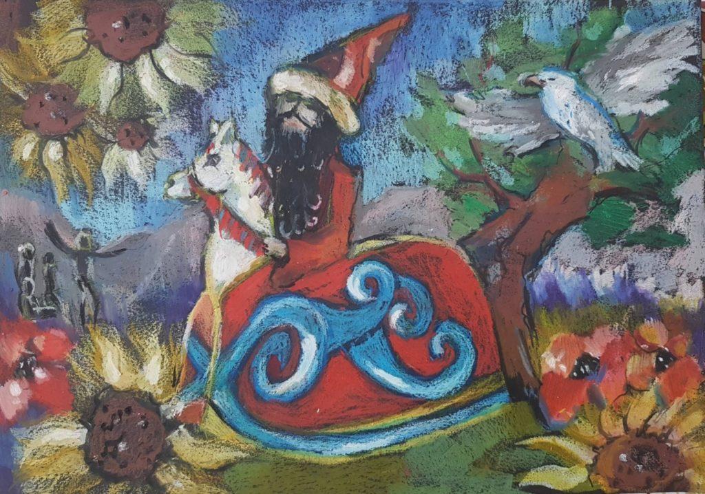 『私たちのライコニック』 作者: Ola Kocjan  (2007年生まれ) ---