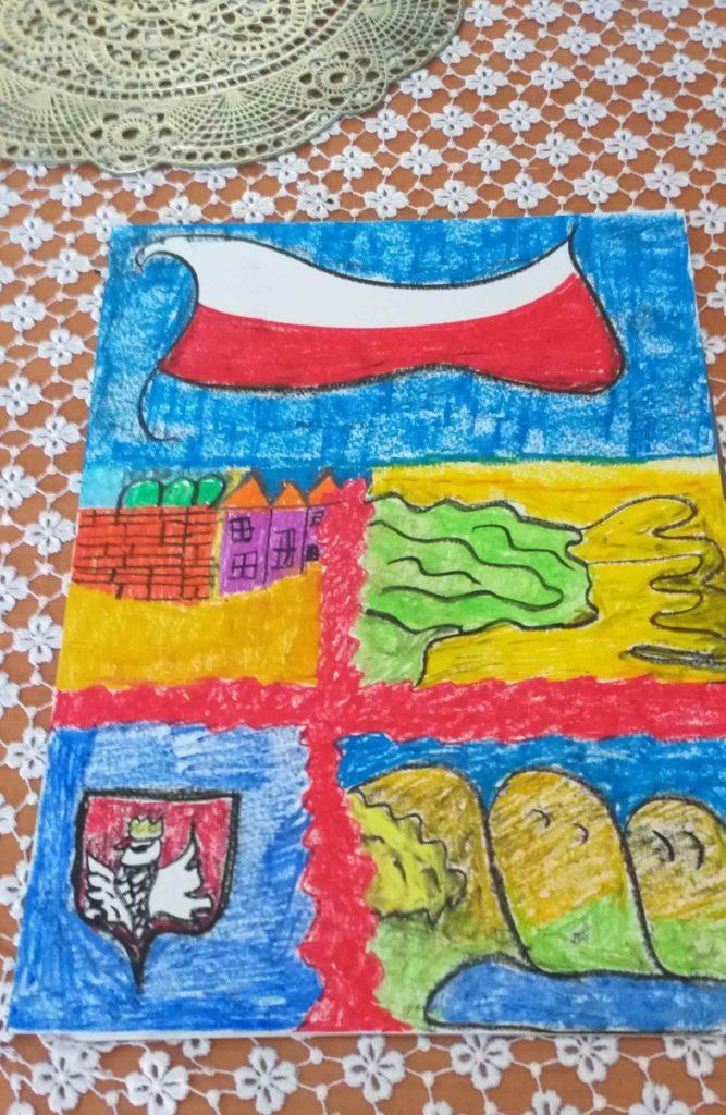 『私の国、ポーランド』 作者: Witold Ceglarek (2014年生まれ) ---