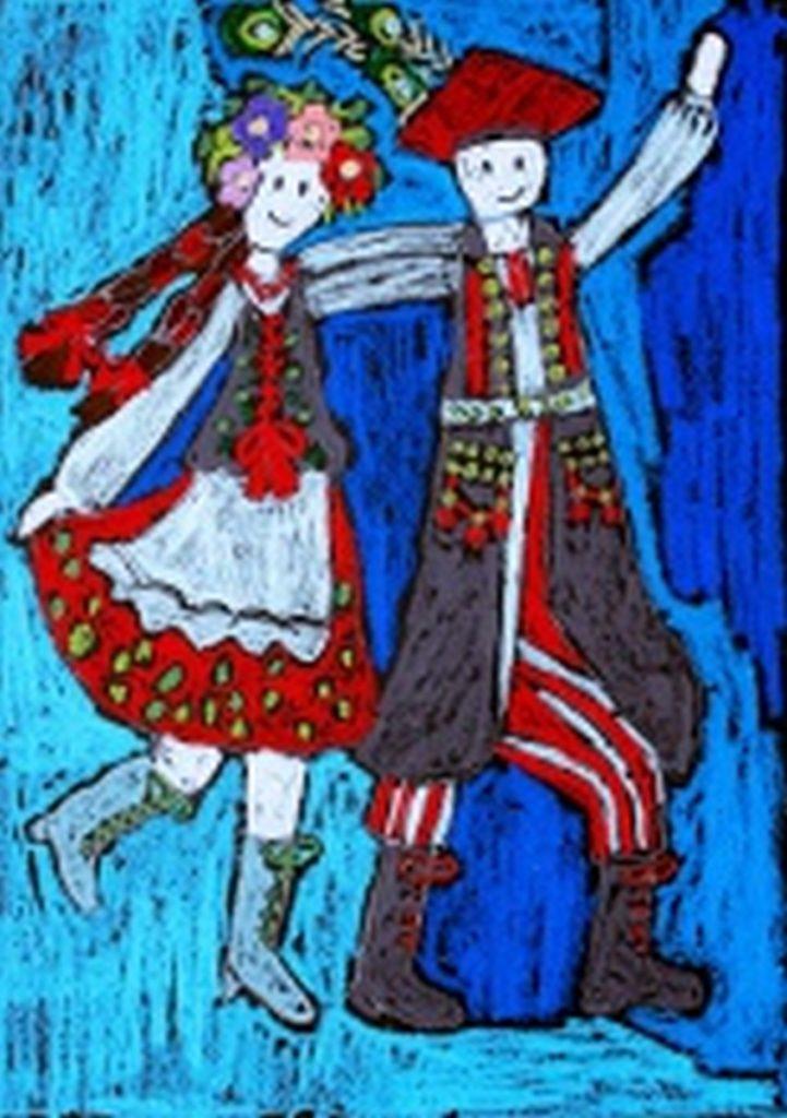 『クラクフの人』 作者:Gabriela Łoza  (2010年生まれ)  ---