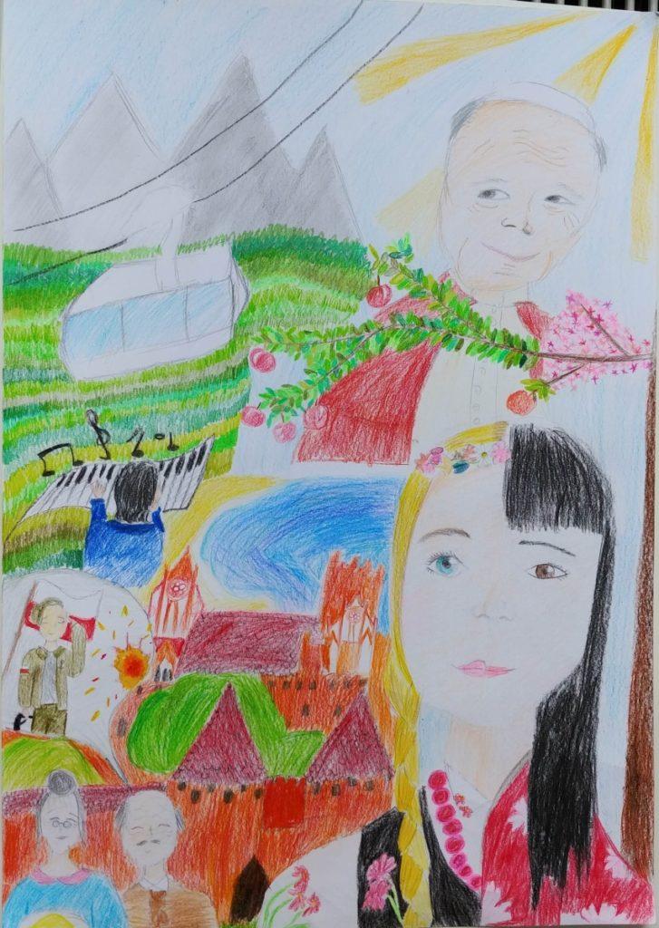 『私の母国は美しい』 作者: Joanna Lubowiecka  (2005年生まれ) ---