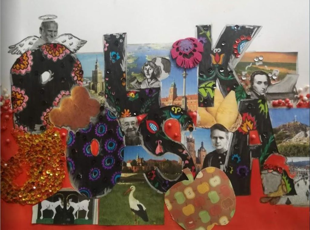 『Must see in Poland』 作者: Hanna Ogińska  (2007年生まれ) ---