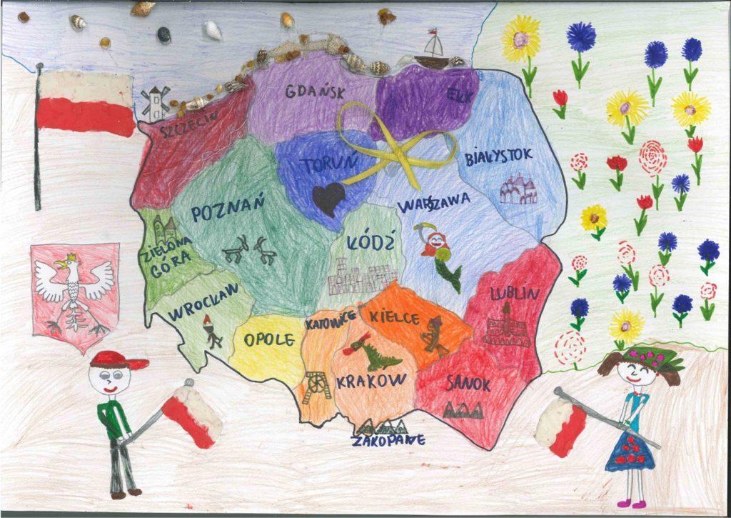 『美しいポーランドへようこそ』  Autorka: Eliza Mikucka  (2010年生まれ) ---