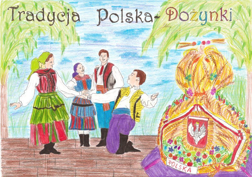 『収穫祭』 作者: Wiktor Kozdroń  (2006年生まれ)  ---